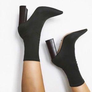 Tony Bianco Diddy Sock Booties